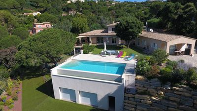 Photo for Superb villa in the private domain La Nartelle located in lush greenery