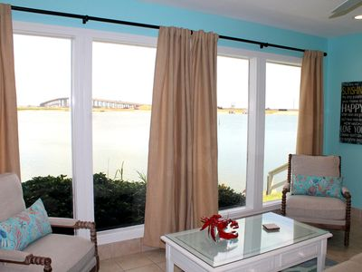 Photo for Waterfront Paradise North Padre 2 Bedroom townhouse Laguna Madre