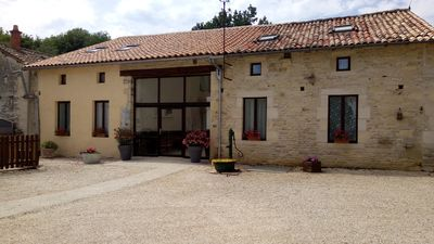 Photo for Spacious gîte with private pool. Wheelchair accessible and pet friendly.