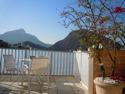 Photo for SINGLE DUPLEX COVERAGE IN IPANEMA, BEAUTIFUL VIEWS OF THE CHRIST, ONLY 5min FROM THE BEACH!