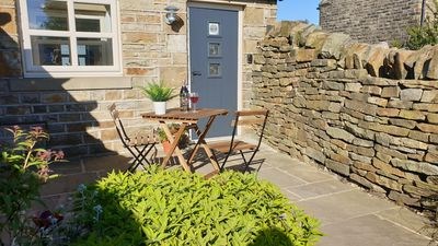 Photo for Country cottage close to the Peak District with stunning Holme Valley views
