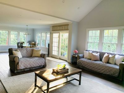 Open space- kitchen and family room