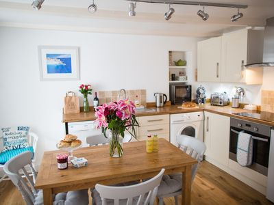 Photo for Fishermans Cottage In Downalong Area,St Ives 2 minute walk to beaches & harbour