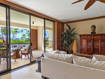Photo for Oceanfront 2 BDRM Condo Steps from the Beach at the Mauna Lani, Gorgeous Sunset Views!