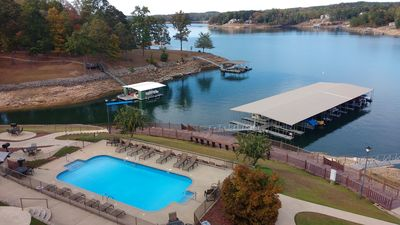 Photo for Luxury Condo, Covered Boat Slip, Pool, Wifi, Marina, Convenient To Shop