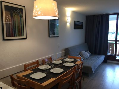 Photo for RENOVATED 2 BEDROOM APARTMENT 6 PEOPLE - SHEPHERDS - ALPE D'HUEZ