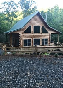 Photo for 2BR Cabin Vacation Rental in Tuckasegee, North Carolina