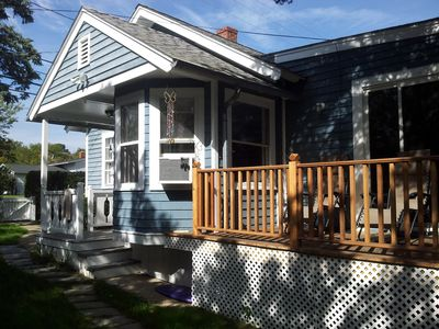Photo for PET FRIENDLY! Magical Beach House; Walk to Town Center, Beach, Harbor and Ferry!