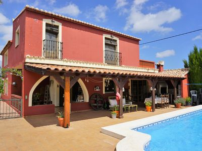 Photo for Finca Azahar for 10-12 pers. with private pool,  from 10 min. the beach of Denia