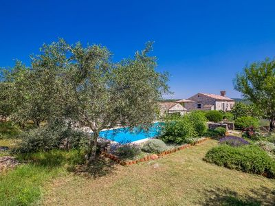 Photo for Renovated beautiful stone house - peaceful green area, private pool, terrace, gorgeous view