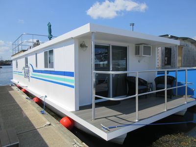 Photo for Houseboat located in the beautiful Kittery/ Portsmouth Harbor