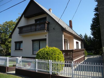 Holiday house in a quiet location with garden, gazebo and barbecue