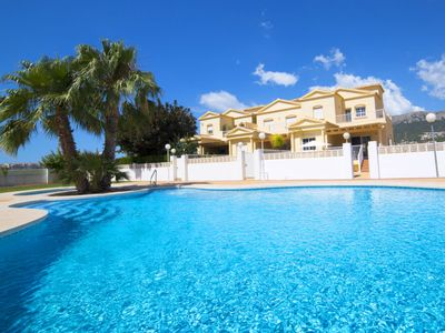 Photo for Vacation home Luz del Sol  in Calpe/ Calp, Costa Blanca - 8 persons, 4 bedrooms