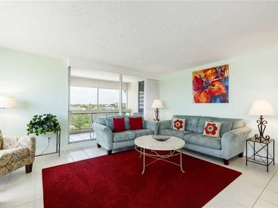 Photo for Unit 55- 2 Bedrooms 2 Bathrooms Condominium With Partial Gulf Views Sleeps 6