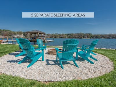 Photo for 5 Separate Sleeping Areas