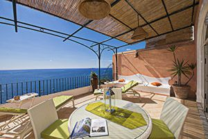 Photo for 2 bedroom Apartment, sleeps 4 in Positano with Air Con and WiFi