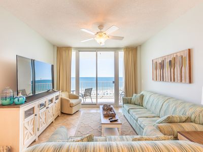 Photo for Lighthouse 505 -Redecorated beach front, kid-friendly 2 King BR, 2 ba+ Bunk room