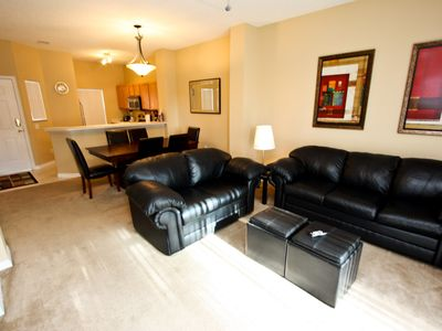 Photo for Enjoy Orlando With Us - Emerald Island Resort - Amazing Relaxing 3 Beds 2 Baths Townhome - 3 Miles To Disney