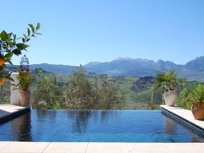Photo for An award-winning Honeymoon Hideaway in the Ronda mountains