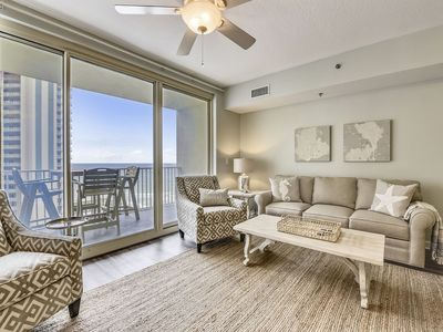 Photo for Shores of Panama 1107 - Lovely Condo, Newly upgraded with Fantastic Views! Free Fun! 2 Bd, Sleeps 8