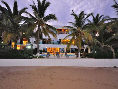 Photo for 8 BEDROOM Fully Staffed MODERN BEACH HOUSE
