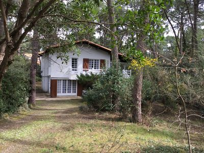 Photo for La Palmyre, quiet in the pine forest, Garden level, close to the sea, 2 bedrooms