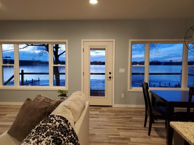 Gorgeous views from the living area
