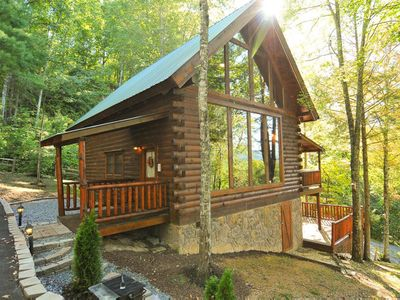 Photo for Secluded cabin perfect for family to have 'Good Times'