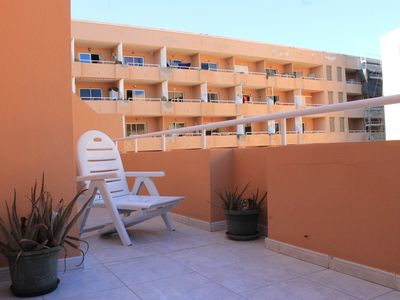 Photo for The Medano, large terrace, pool, near beach!