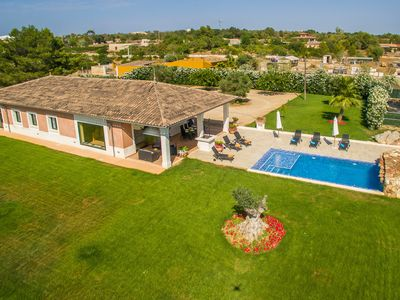 """Photo for Charming Finca """"Romani"""" chill out area, private pool, terrace, WiFi, BBQ, TV"""