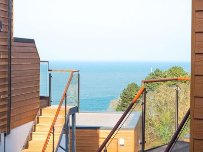 Photo for Plover 3 - The Cove Brixham - modern apartment with sea views & terrace