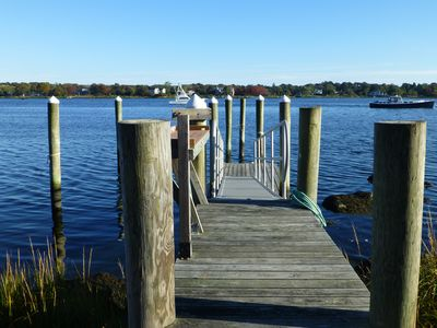 Dock on Pawcatuck River
