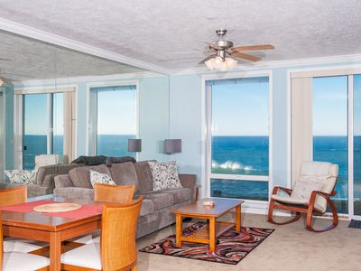Photo for *Promo!* Oceanfront Condo with Pool, Hot Tub, Wifi and Much More!