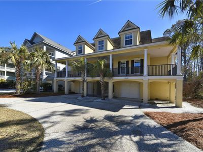 Photo for Short Walk To The Beach w/ Large Pool & Lounging Deck in Prime HHI Location!