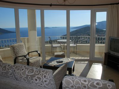 Photo for Cetinkaya Penthouse Duplex Apartment With Amazing Sea Views And Swimming Pool
