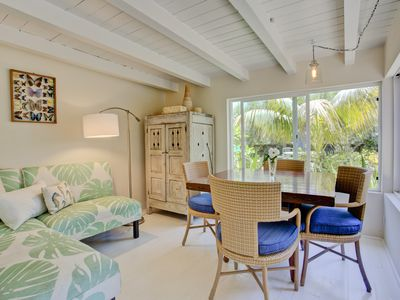 Photo for THE BEST LOCATION-HUGE YARD and PRIVATE COTTAGE- PALM COTTAGE -SUMMERLA