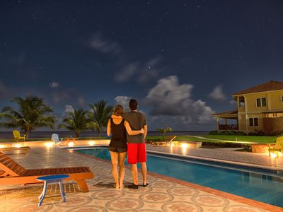 Photo for Luxury Beachfront Villas in Hopkins, Belize - Seiri del Mar H3