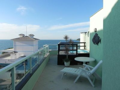 Photo for Duplex Penthouse with Pool and Sea View