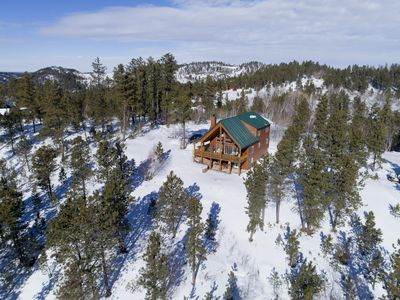 Photo for New Ownership! Beautiful Cabin on 2 Acres-Amazing views of the Black Hills!