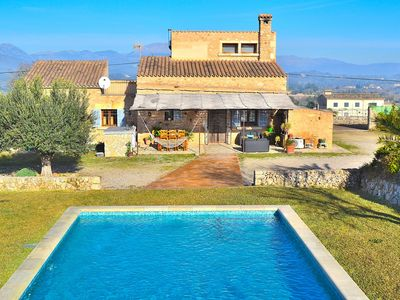 Photo for Can Perelló Majorcan villa with swimming pool with all amenities 093