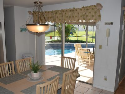 Photo for NO Rear Neighbors, Sunny Private Pool, Game Rm, 5 Star, Close to Disney, WIFI