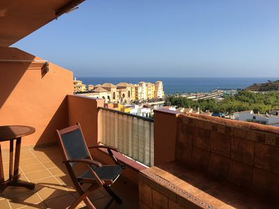 Photo for Sunny apartment Playamar in ideal location, only 300m from the beach, free WIFI