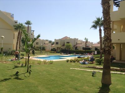 Photo for Ground Floor Apartment on Prestigious Golf Resort