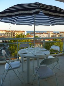 Photo for Aetius residence, apartment 2 rooms of 42 sqm terrace with sea view