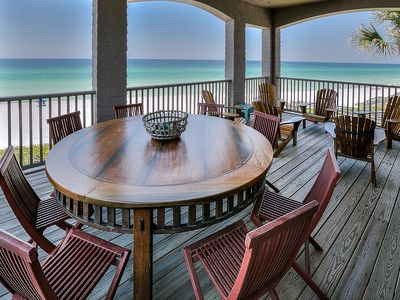 Photo for 4 FREE BIKES LIMITED BOOK NOW-6 Bedroom Gulf Front w/Pool—Bike/Walk to Seaside
