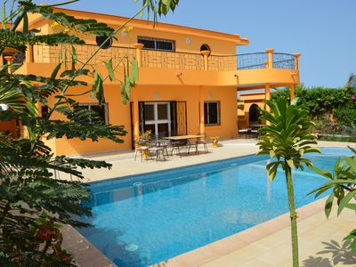 Photo for In Saly on the small house coast of 450 m2, with 5 bedrooms and private pool