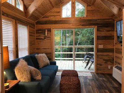 Photo for Summer Specials for Luxury Tiny Cabin that Sleeps 8 in the Heart of Hochatown!