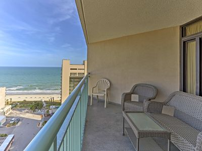 Photo for NEW! Myrtle Beach Condo within Oceanfront Resort!