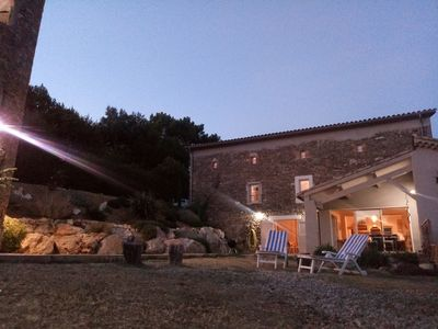 Photo for Farm jhouse in the Cevennes with private pool near Anduze