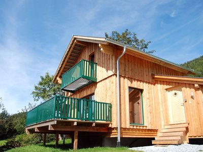 Photo for New luxury wooden chalet 200 metres from the lift at an elevation of 1300 metres